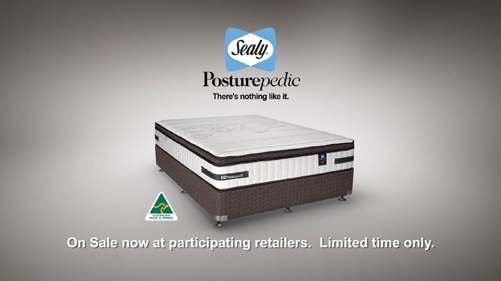 Sealy Australia<br>Falling Asleep TV Commercial