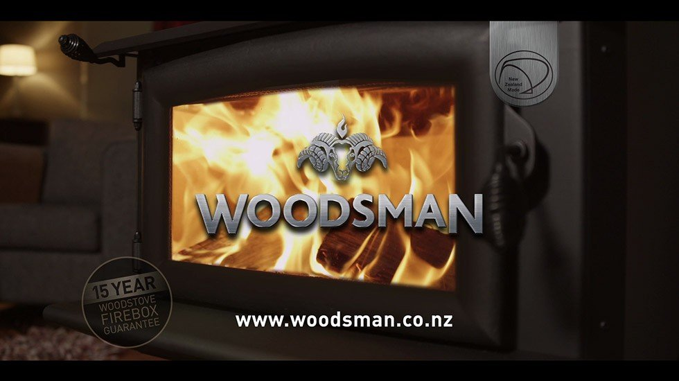 Woodsman Fires<br>Brand TV Commercial