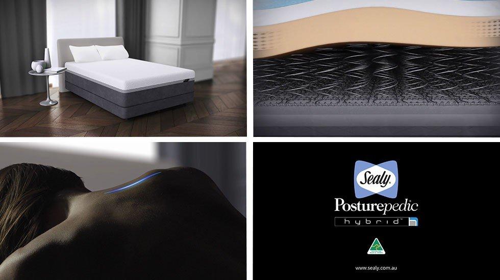 Sealy Australia<br>Hybrid TV Commercial